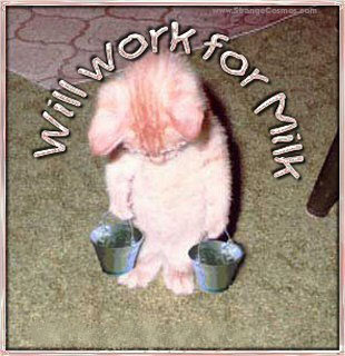 Trabajo por leche