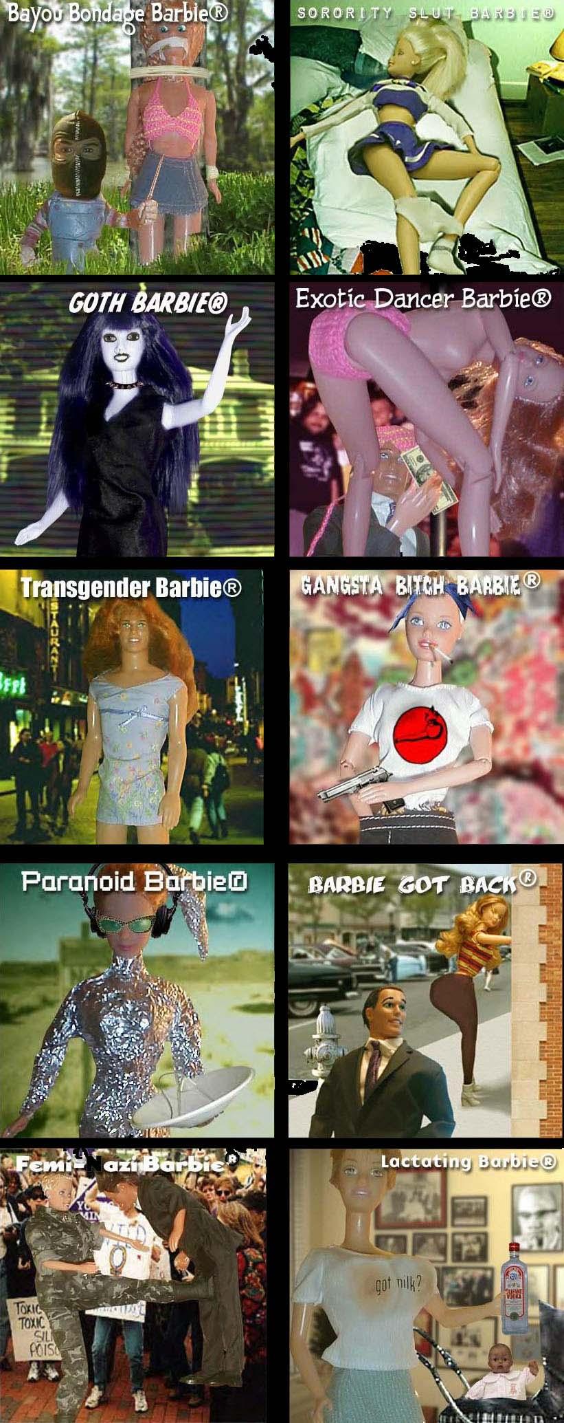 Muchas Barbies
