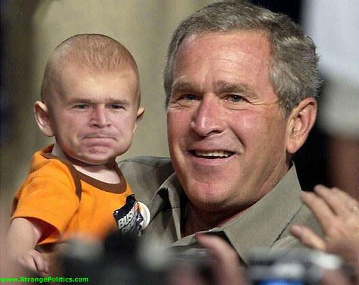 Bush e hijo