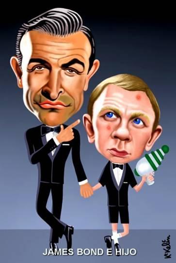 James Bond e hijo