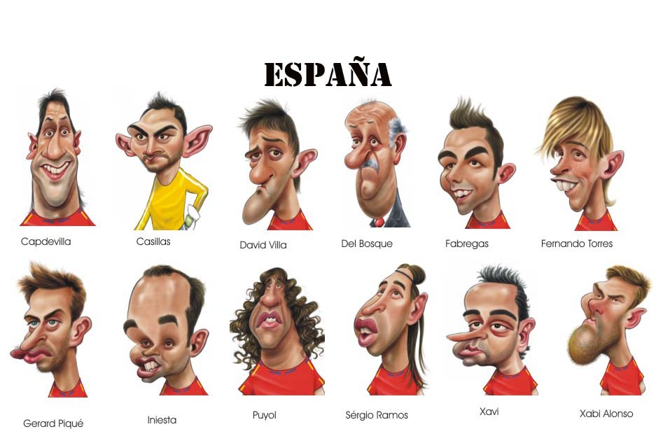 Espa�a, ganadora del Mundial de F�tbol 2010