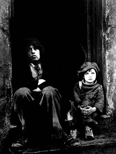 Mick Jagger y el chico