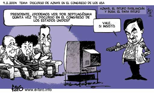 Aznar-Rajoy-Rato Tele
