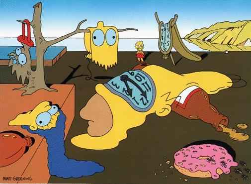 Simpsons-Dali