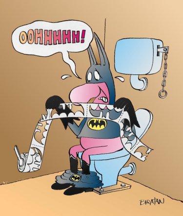 Batman en apuros