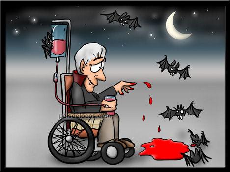 Dracula anciano