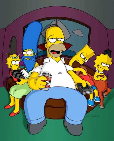 Familia Simpson en Halloween