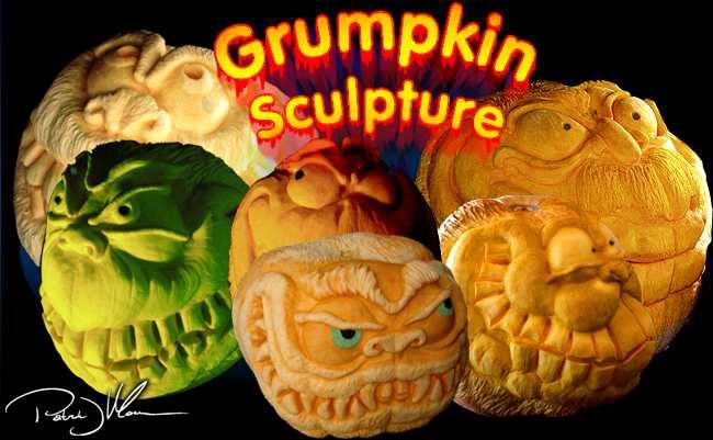 Grumpkin Sculpture
