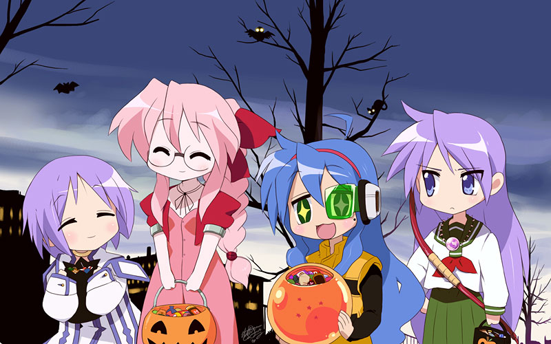 Lucky Star  Halloween Night by EiffelArt