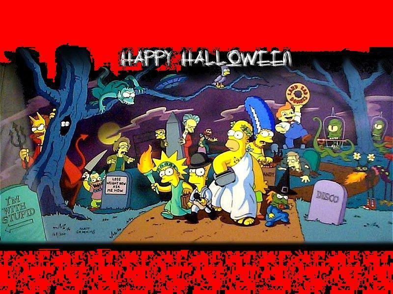 Sfondi Desktop-Simpson-Halloween