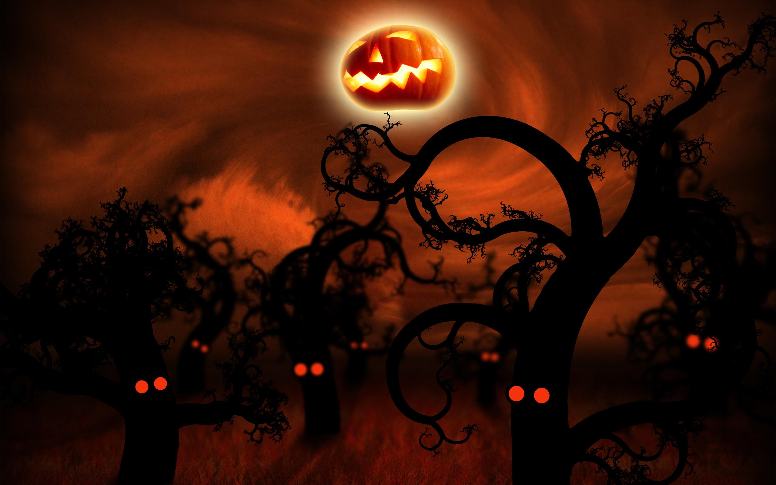 vladstudio midnightforest halloween 2560x1600