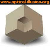 Is it a cube inside another one? Or is it a cube with a missing part?