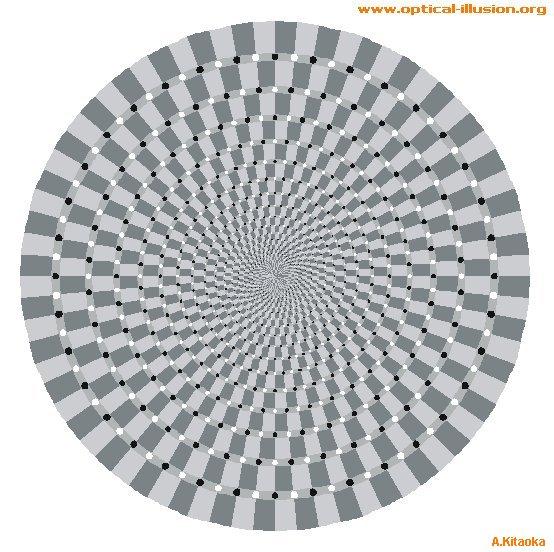 Deep spiral (The image is Copyright A. Kitaoka)
