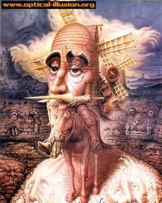 Don Quixote, or a windmill?