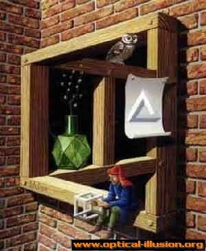 Multidimensional shelf.
