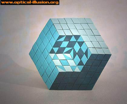 Is there an extension to the cube or a missing part?