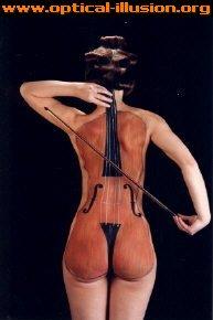 Woman Cellist.