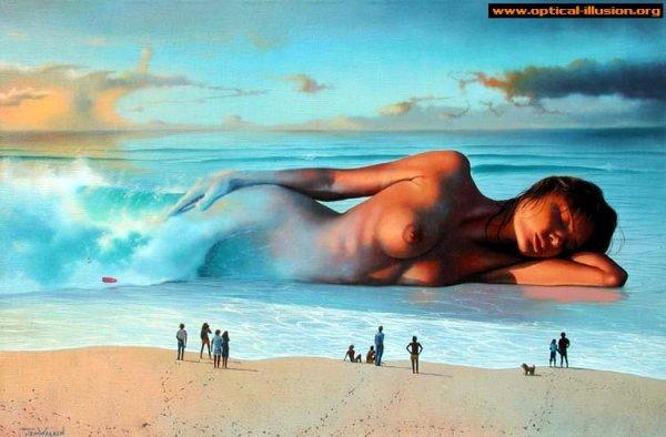 Real mermaid.