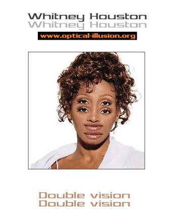 Whitney houston, but wee bit confused!