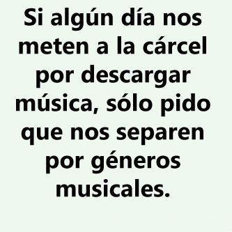 Descargas musicales