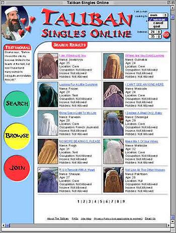 Taliban singles online