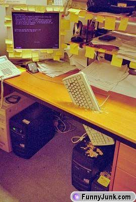 Enfadado con el ordenador