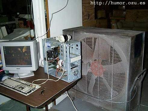 Ordenador bien ventilado