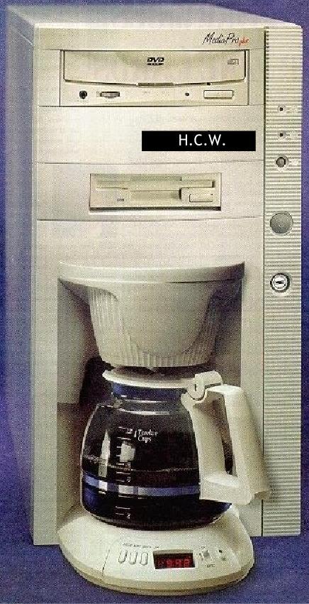 Ordenador cafetera