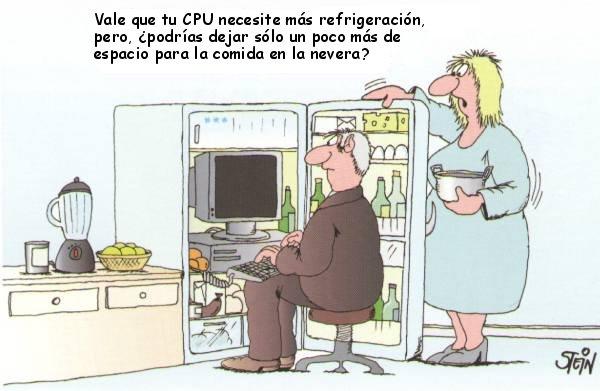 Refrigerar el ordenador