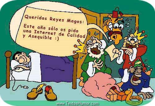 Carta de un internauta a Los Reyes Magos