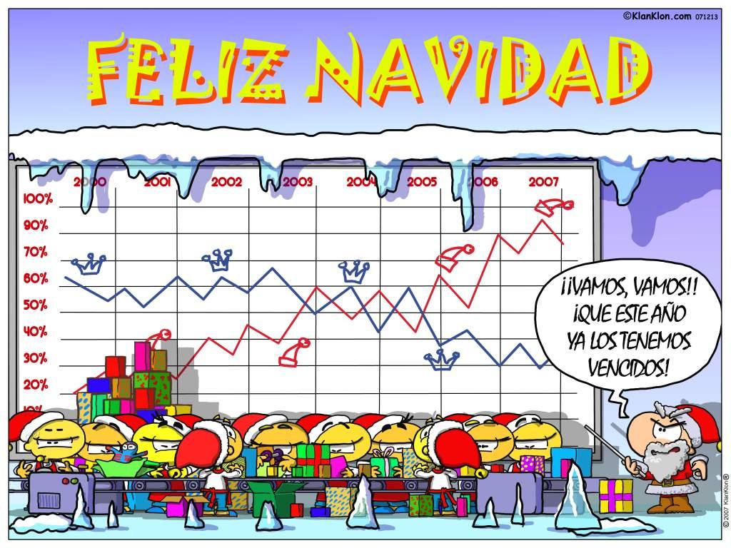 Papa-Noel vs Los Reyes Magos