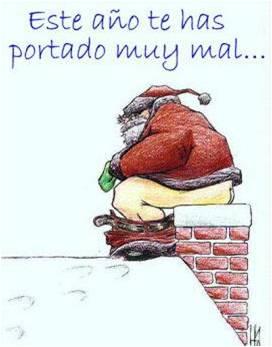 Papa Noel - Te has portado mal