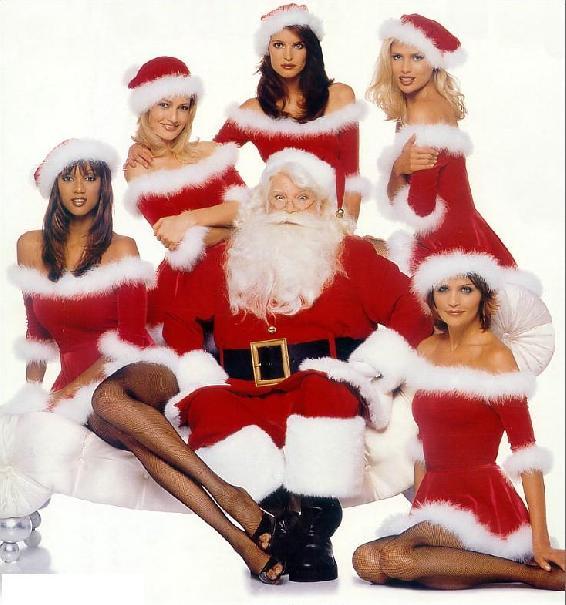 Papa Noel afortunado