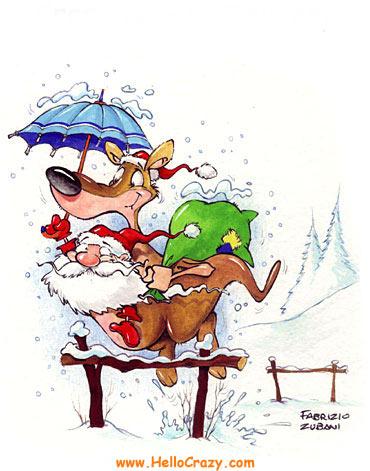 Santa-Claus en canguro