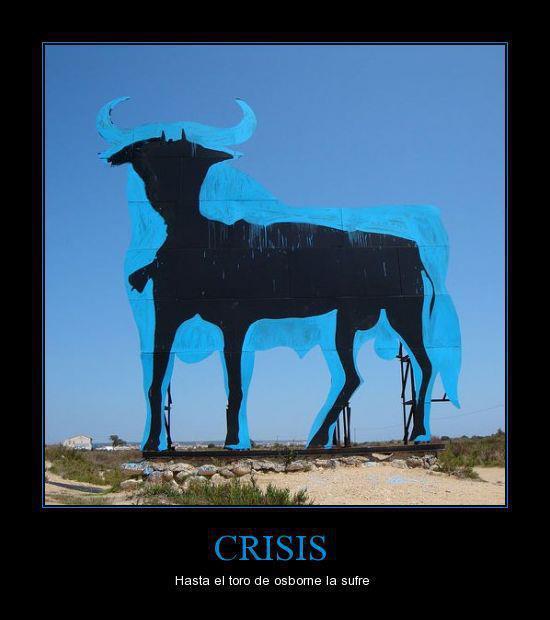 El toro entra en crisis