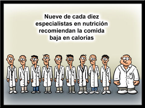 Comida sin calorias