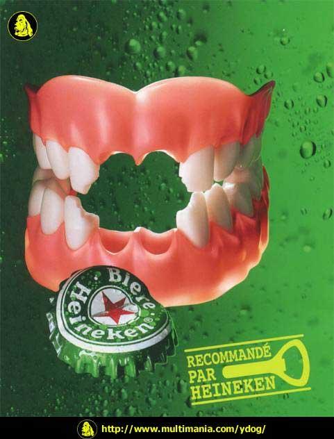 REcpmendado por Heineken