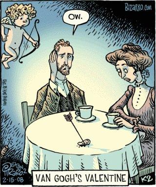 El dia de San Valentin para Van Gogh