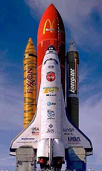 Cohete publicitario