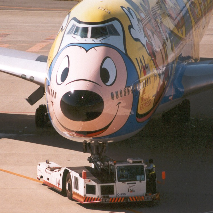 El jet de Mickey
