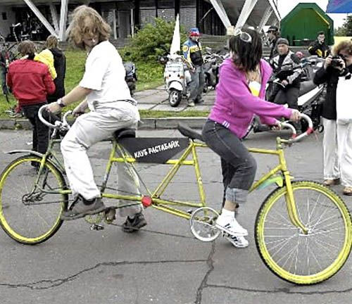 Bicicleta imposible 1