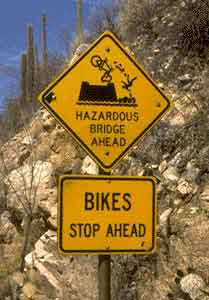 Cuidado si vas en bici