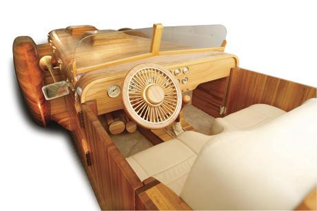Coche de madera 3