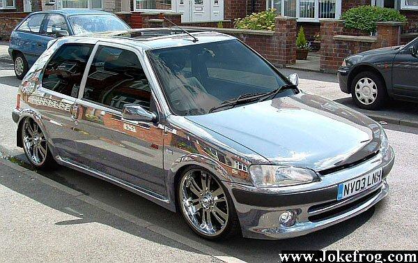 carro metalizado
