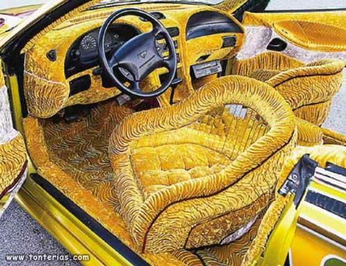 coche terciopelo