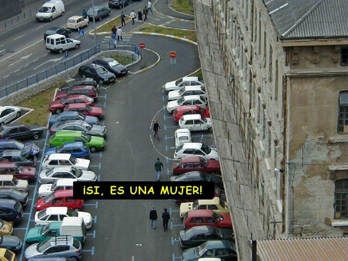 aparcar horizontal