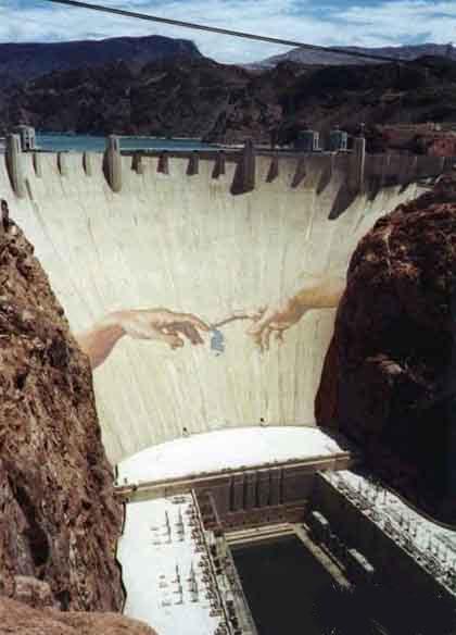 La presa de Dios