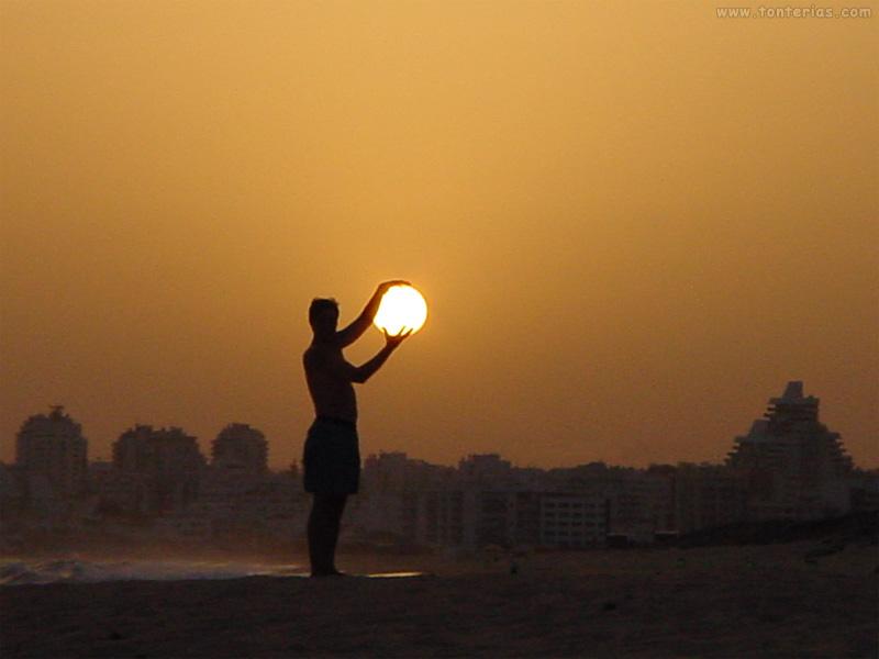 atrapando el sol