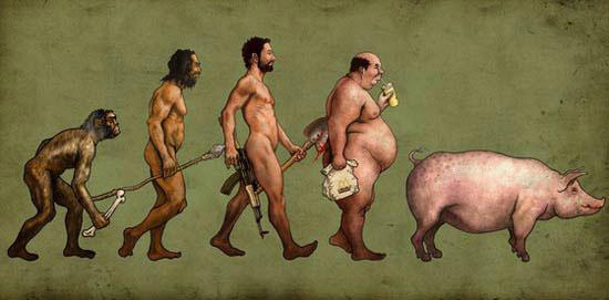 La evolucion de la especie humana
