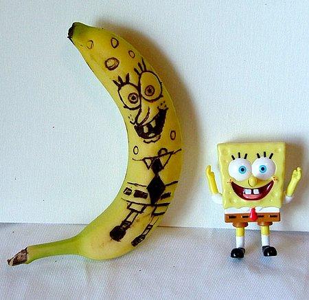 Banana-Esponja 2